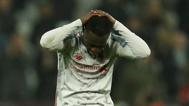 Divock Origi wasted a huge opportunity to claim three points for Liverpool at West Ham