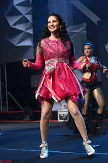 Sunny Leone Dancing on stage At Rogue Movie Audio Music Launch ~  264.JPG