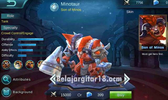 Minotaur Mobile legends