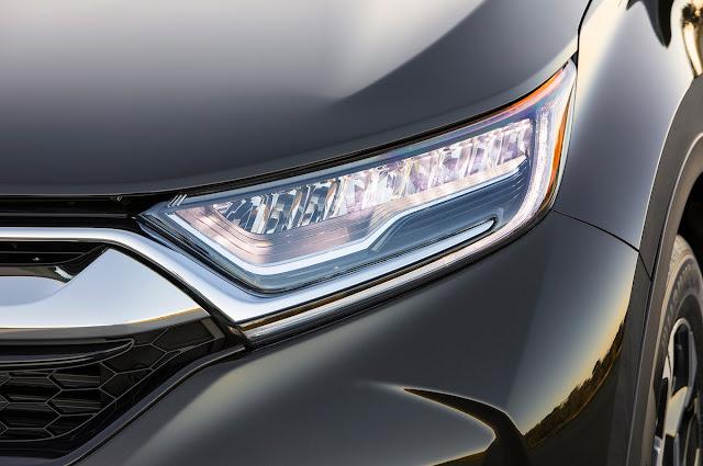 All New 2018 Honda CR-V front Headlight