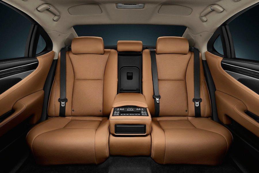 超豪華!高級車の後部座席はこんなデザイン!|idea Web Tools 自動車とテクノロジーのニュースブログ