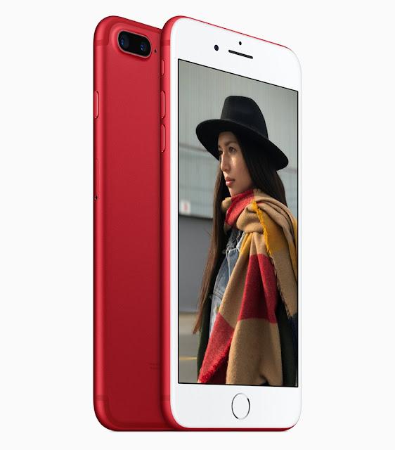 O iPhone Red é o resultado de uma parceria com a organização RED, que trabalha com o combate à Aids/HIV