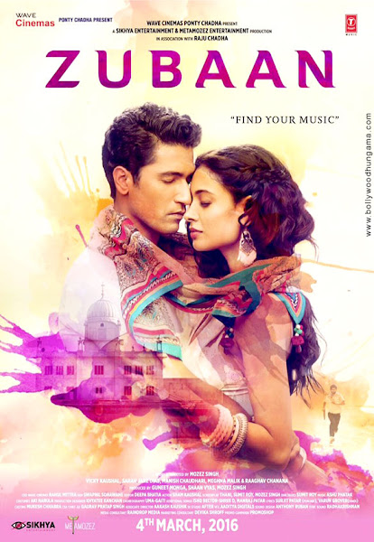 Zubaan (2016) Movie Poster