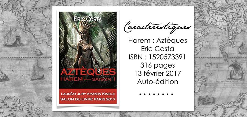 Harem Aztèques de Eric Costa