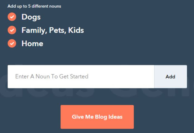 blogger outreach blog idea generator