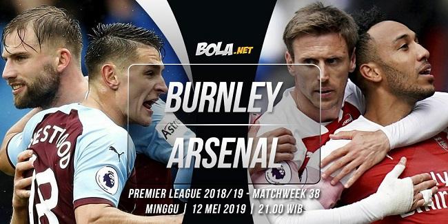 live streaming liga inggris burnley vs arsenal 12 mei 2019
