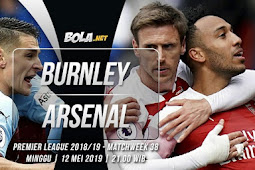 Live Streaming Liga Inggris Burnley vs Arsenal 12 Mei 2019