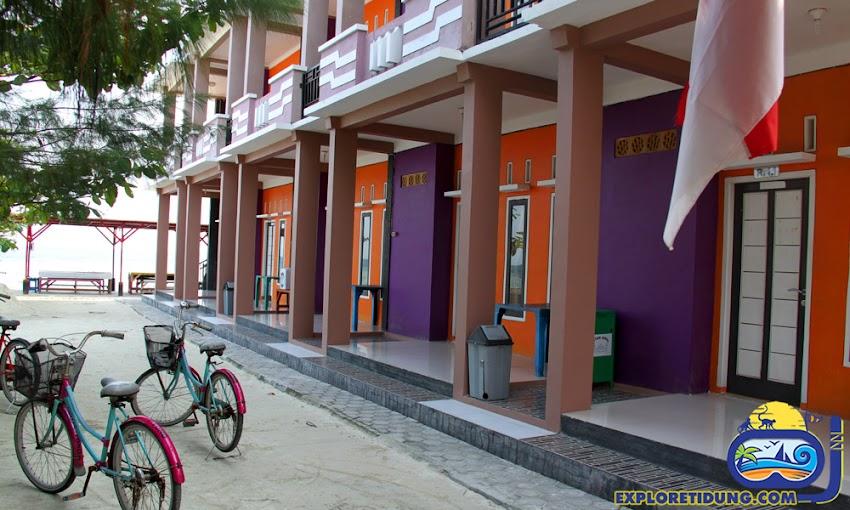 penginapan wisata pulau tidung