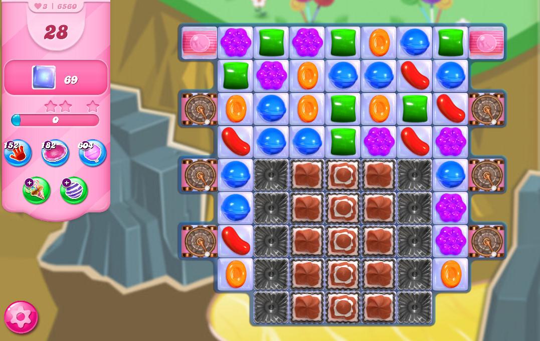 Candy Crush Saga level 6560