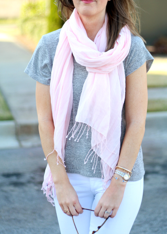Spring Scarf and Accessories