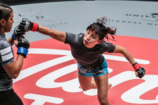 female Mixed Martial Arts fighter