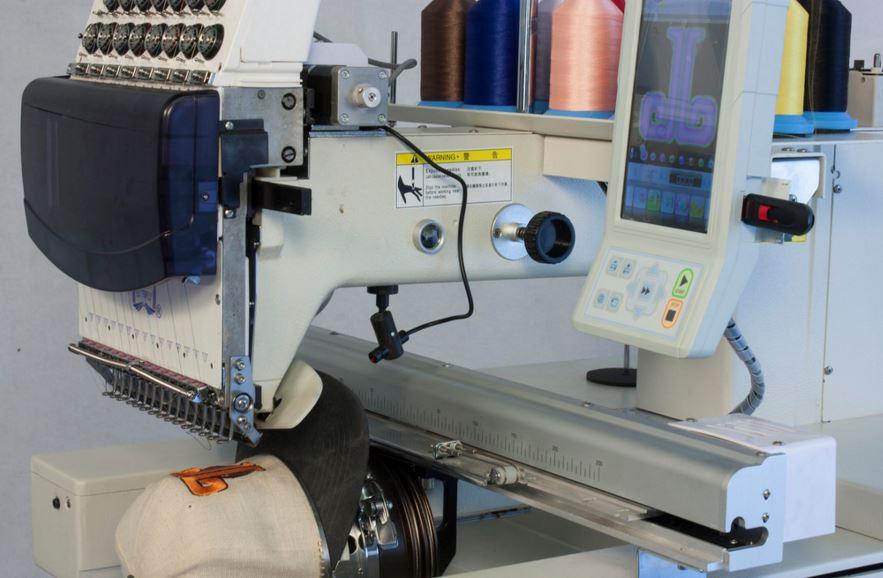 Tajima Single Head 15 Needles Embroidery Equipment Reconditioned