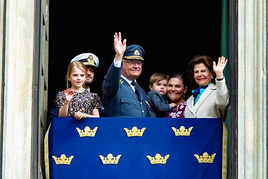 Königlicher Beobachter: 73. Geburtstag: König Carl XVI