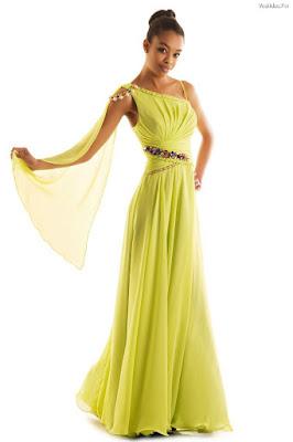 Vestidos de Noche Estilo Diosa Griega
