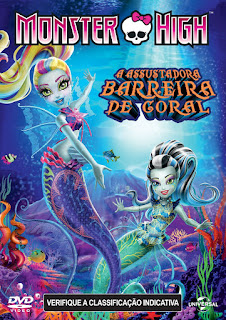 Monster High: A Assustadora Barreira de Coral – Dublado (2016)