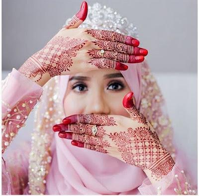 Inspirasi Baju Pengantin Syari