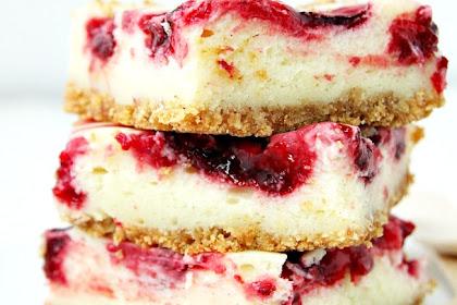 Lemon Raspberry Cheesecake Bars Recipe