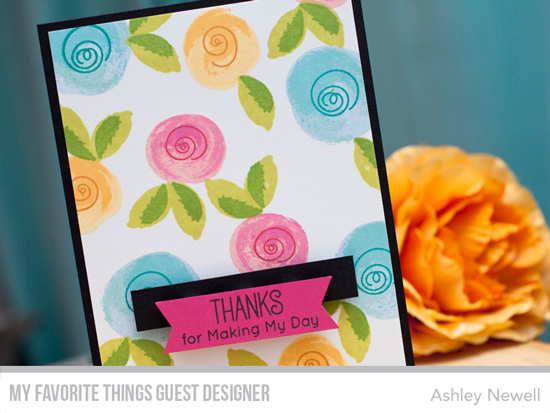 Handmade card by Ashley Newell featuring products from My Favorite Things #mftstamps