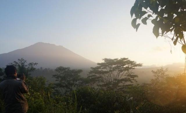 Letusan Gunung Agung Bisa Hasilkan Tanah Tersubur di Dunia