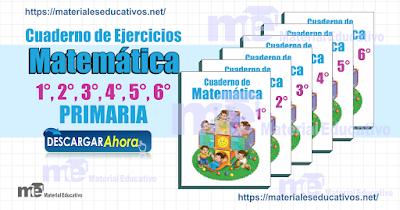 Cuaderno de Ejercicios matemática primaria