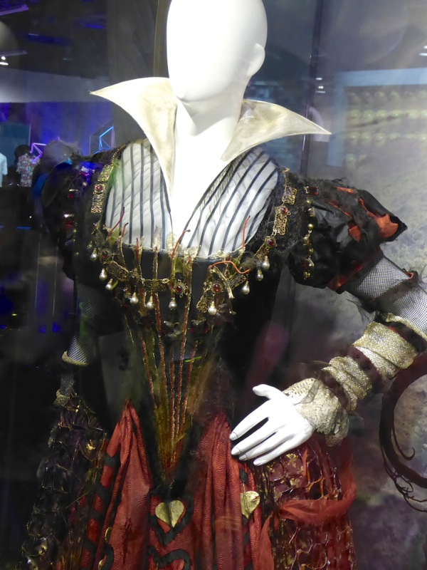 Alice Through the Looking Glass Iracebeth costume detail