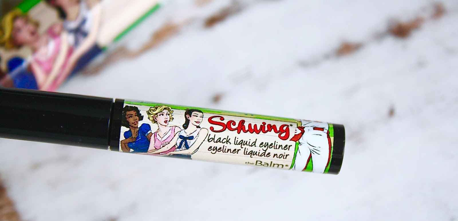theBalm Cosmetics Schwing Eyeliner Review