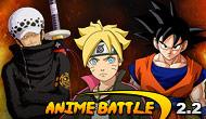 لعبة قتال أبطال الأنمي  الجيل الجديد