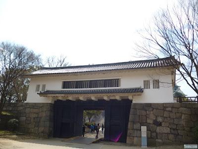 大阪城の青屋門