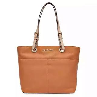 a0752ff026931 حقيبة كبيرة توتس لون بني للنساء Michael Kors Tote Bag 30H4GBFT6L-198