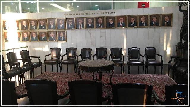 Visita guiada no Congresso Nacional