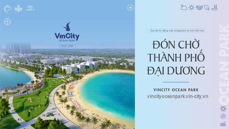 vincity ocean park thanh pho dai duong