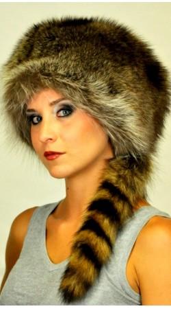 real fur hats