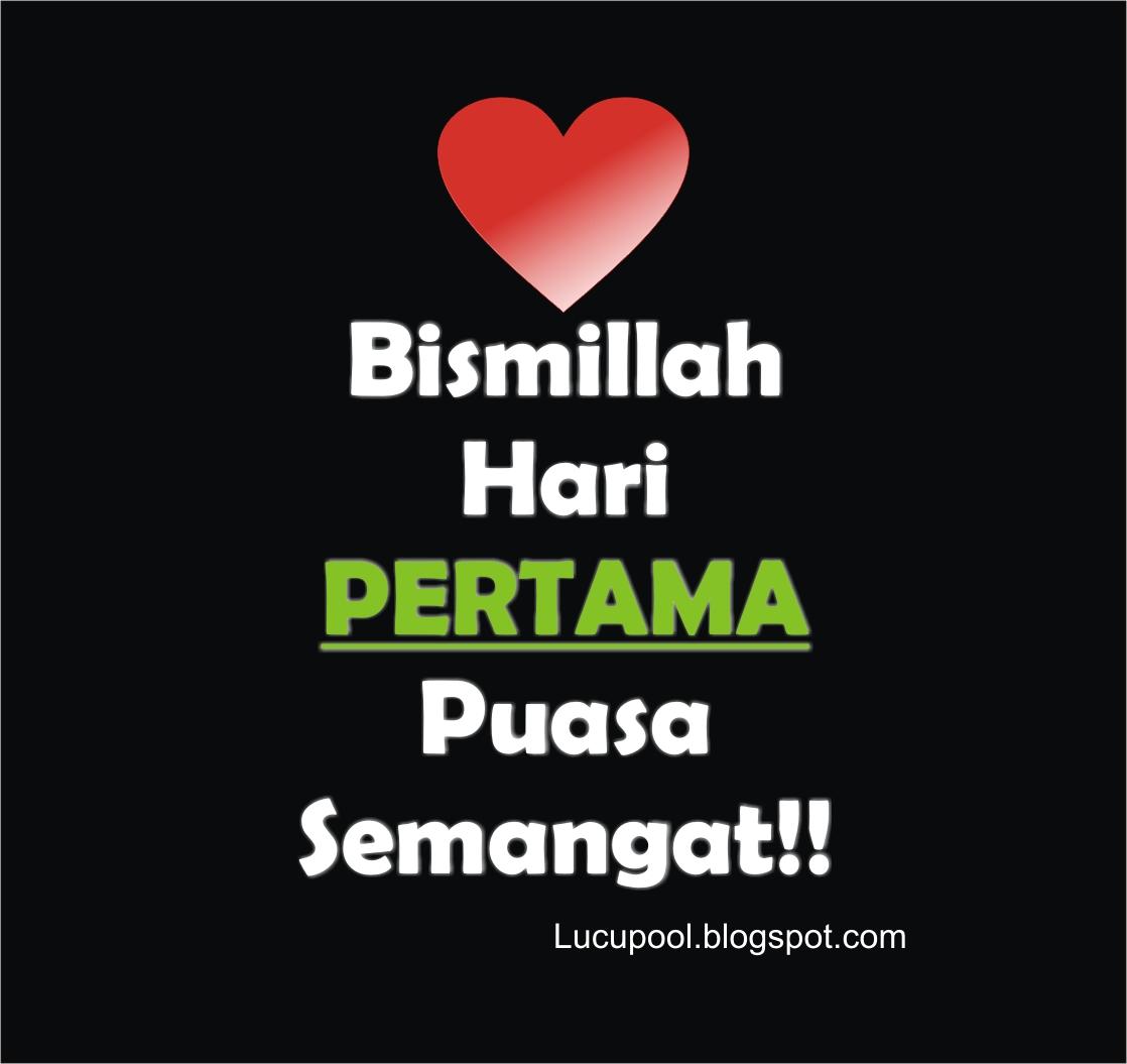 Gambar Kata H 1 Hari Pertama Puasa Ramadhan 2015 1436H Upin Ipin