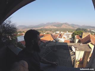 Vista da cidade de Santa Rita do Sapucaí/MG.