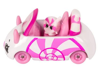 Бело-розовая машинка конфетка Шопкинс из коллекции Кьюти Карс сезон 1