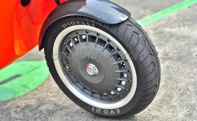 Foto Modifikasi Vespa S 150 3v 2014 Racing