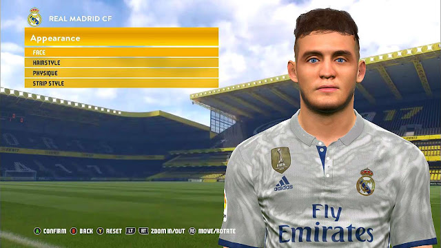 PES 2017 Face Mateo Kovacic (‎New Hair) by Sayed Reda
