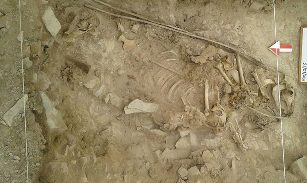 4,000 year old burial found in Lima's northern district of Los Olivos