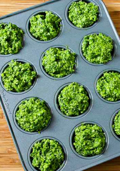 Kale and Basil Pesto with Lemon and Parmesan found on KalynsKitchen.com