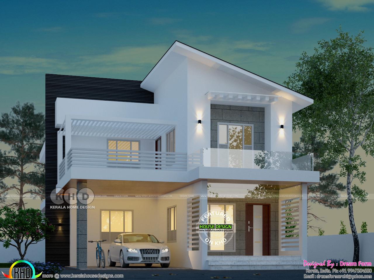 3bhk Contemporary Home Part - 27: Please Follow Kerala Home Design