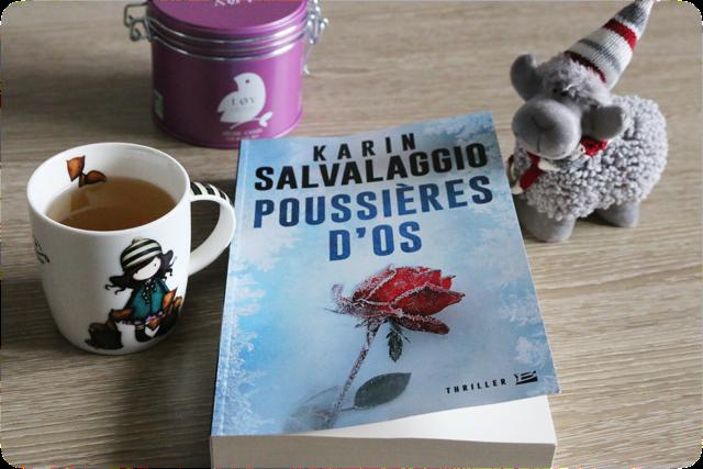 Poussières d'os de Karin Salvalaggio