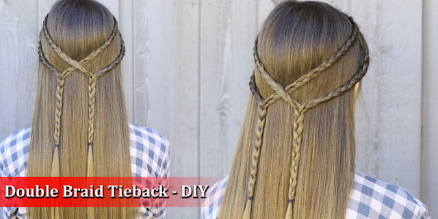 How To Create Double Braid Tieback - DIY