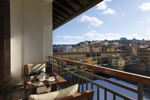 Places :: Hotel Lungarno Florence, Italy {Cool Chic Style Fashion}