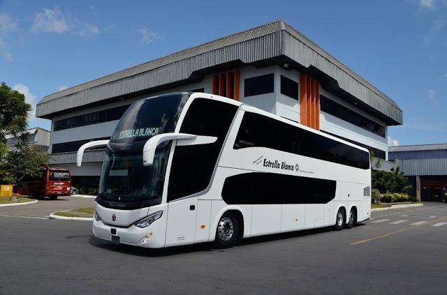 Gu a del viajero en m xico mas fotos de los nuevos autobuses de dos pisos de estrella blanca - Autobuses de dos pisos ...
