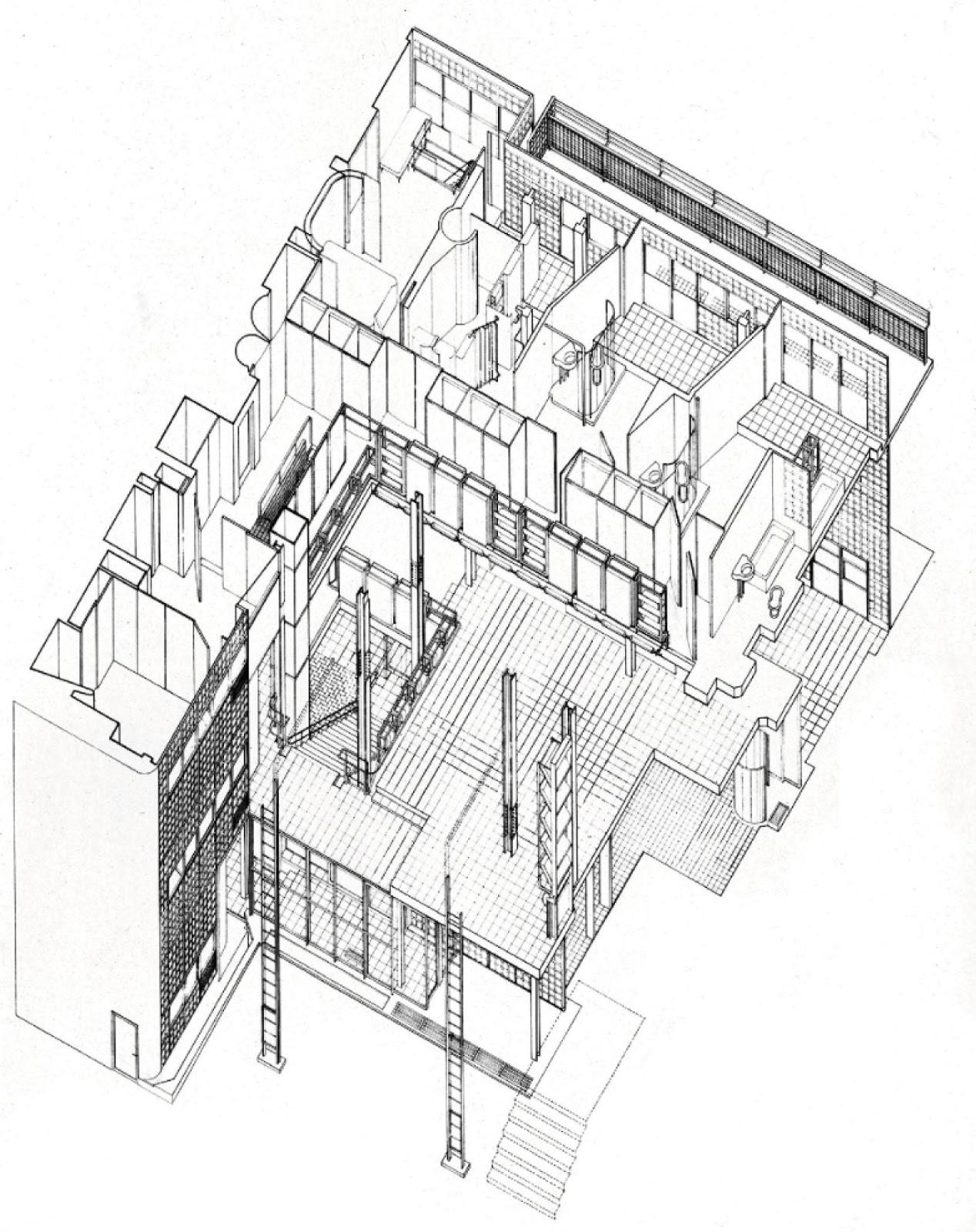 otro la casa de vidrio de pierre chareau. Black Bedroom Furniture Sets. Home Design Ideas