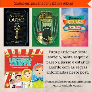 Editora Adonis publica obra vencedora do Concurso Agostinho de Cultura O Gabriel Lucas - #OGL