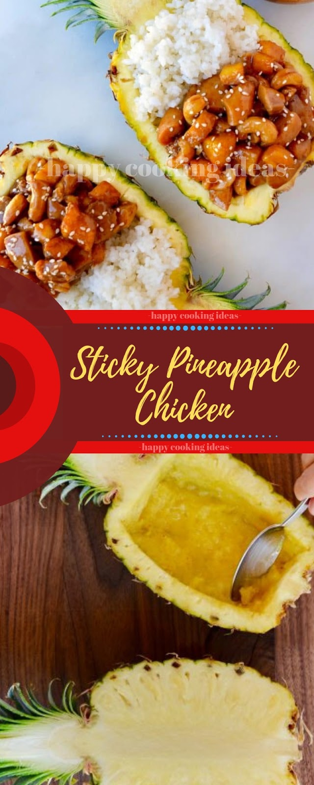 Sticky Pineapple Chicken