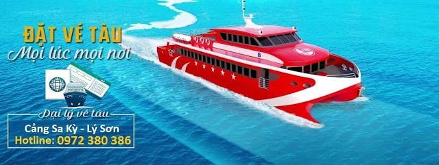 Đặt vé tàu siêu tốc Lý Sơn