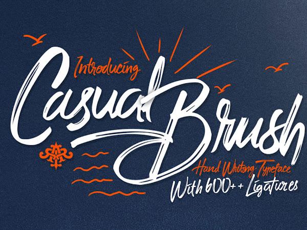 Casual Brush Script Font Free Download