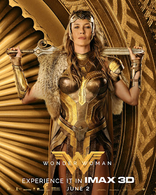 Wonder Woman Character Movie Poster Set